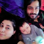 Bollywood actress Alisa Khan spending quality time with daughter Dua and husband Aftab Hussain Shah