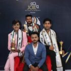 Yash Thorat The 1st Runner Up Of Mr Universe 2020 With Subtitle Of  Mr  Talented A Pageant Presented by Joil Entertainment