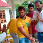 Mahakali Movie's And Khesari Lal Yadav's Untitled Film Muhurat N Shooting Started