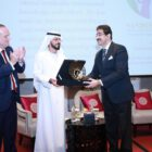 DR  SANDEEP MARWAH  HONOURED IN DUBAI
