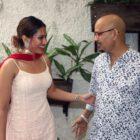 Film Miss Msasala Dosa Gets Blessings of Pujya Karshin Nagendra Ji Maharaj Of  Vrindavan
