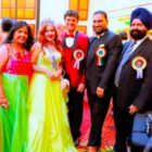 World  PEACE Messenger  Angel Tetarbe Celebrated Independence Day Flag Hoisting At Times- Square New York